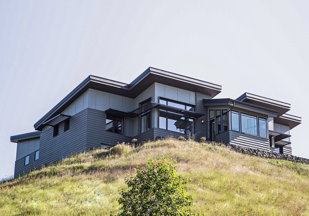 Windy View Passive House Nathan Good Architects